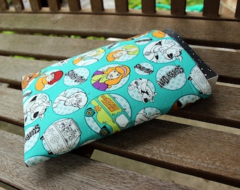 Ruh-Roh Scooby Doo Small 9 x 7.5 Padded Fully Lined Book Sleeve