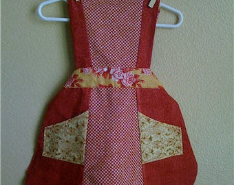 Children's Apron; Toddler Apron; Kids Apron