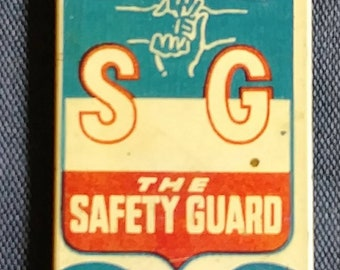 1942 Little Orphan Annie's Safety Guard Member Tin Whistle Metal WW II Era Radio Show