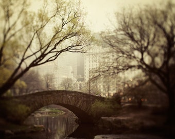 New York Print, Fine Art Photography, New York City Wall Art, NYC Photography Print, Central Park, NYC Print - Fairytale of New York
