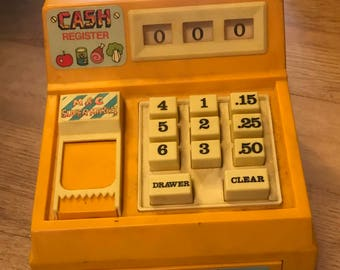 Vintage M&C Cash Register Toy