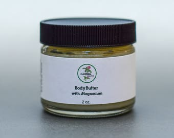 Body Butter with Magnesium | Herbal | Health | Ointment | Balm | Salve