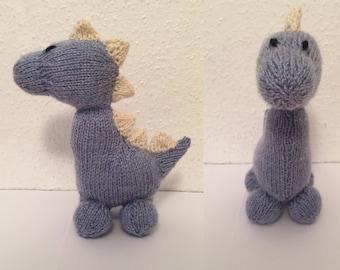 Hand made Dinky Dinosaur stuffed toy