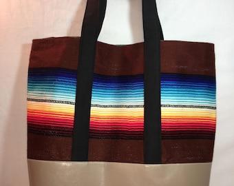 Serape Weekend Bag