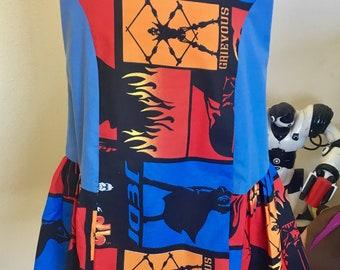 Star Wars dress (blue, size 6)