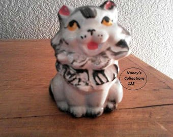 Vintage Ceramic Cat, Cat Lovers, Collectible