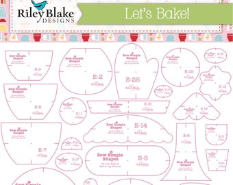 Let's Bake! Sew Simple Shapes