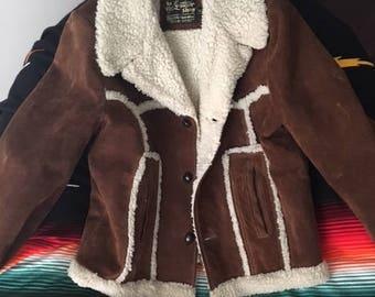 70's Vintage Suede Fur Marlboro Jacket (Cowboy)