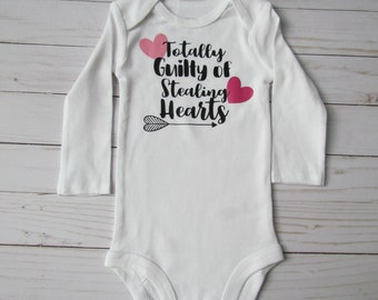 Guilty of Stealing Hearts Baby Bodysuit