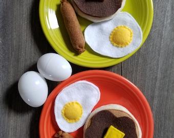Felt Pancake Breakfast for Two