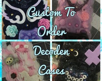 Custom Made To Order Decoden Whip Case