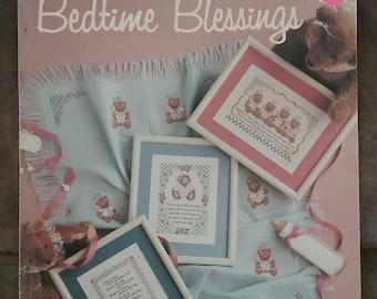 Bedtime Blessings Cross Stitch Leaflet