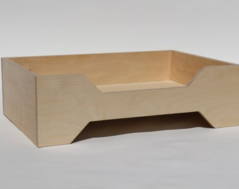 Luxury Solid Wood dog bed