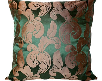 Versailles.  Traditional Luxurious Silk Damask Cushion Cover.  Vintage French Duchess Silk Cushion Cover