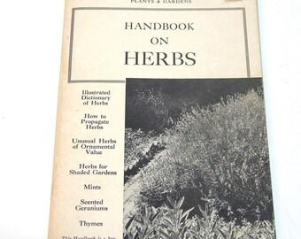 Handbook On Herbs, Brooklyn Botanic Garden