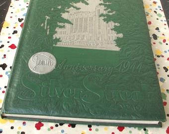 10th Anniversary 1944 Silver Streak Steinmetz HIgh School Yearbook Hugh Hefner