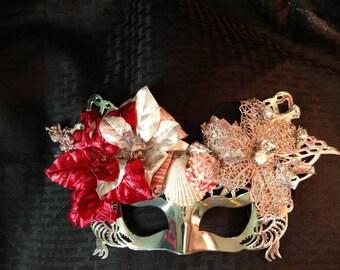 Cranberry & Wine mermaid mask