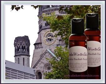 Calendula Baobab Facial Oil Serum for Men and Women