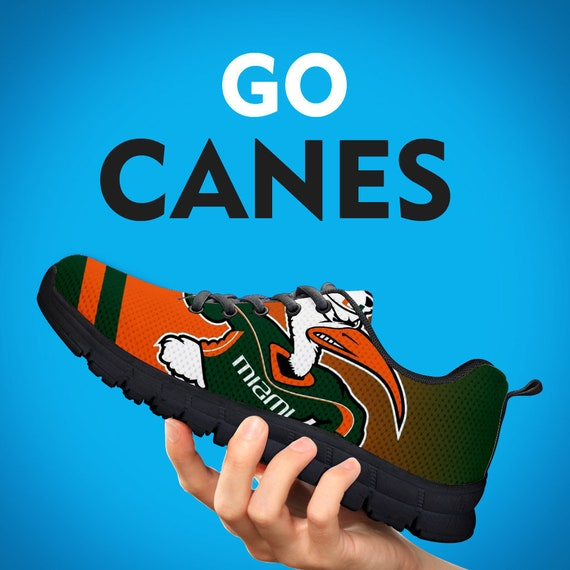 Hurricanes Collector Gift Miami Mens Custom Face Running Fans Football Kids Sneakers Shoes Womens Black Trainers Sizes Sole R1xHwqFdp1