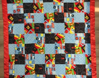 Baby Blanket Cars Themed