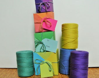 Cotton twine, yarn, string, warp 800 yards- craft, gift  8oz