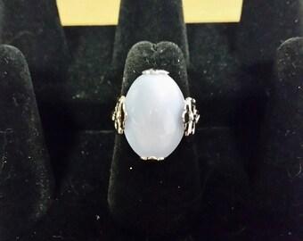Silvertone Avon ring