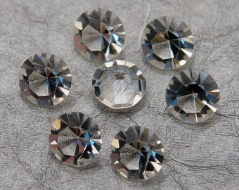 SS47 Clear Crystal Unfoiled Swarovski Rhinestone Chatons - Article 1100 First Quality Machine Cut Crystal - 6 pc