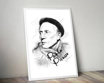 Picasso Gliceé Art/Canvas Print [Limited Edition]