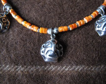 Shakira Necklace with 950 Silver Idol