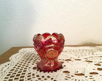 Vintage Imperial Carnival Glass Toothpick Holder