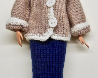 Barbie Coat with Skirt and Beret