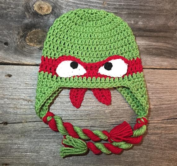 Crochet Tmnt Teenage Mutant Ninja Turtles Inspired Hat Pattern