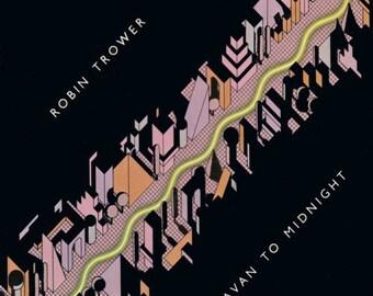 Robin Trower - Caravan To Midnight - US original release vinyl album
