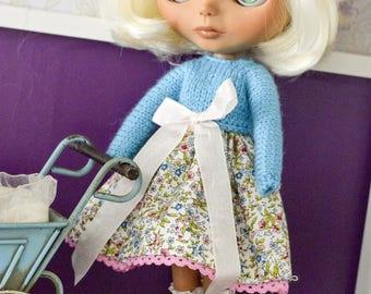 Dress for Blythe//Blythe Clothing//clothes for Blythe