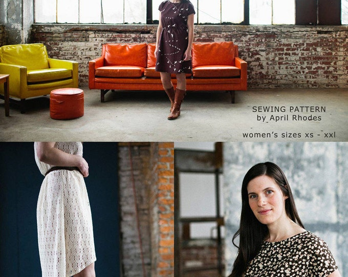Staple Dress - April Rhodes Patterns