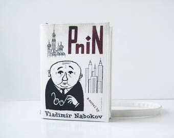 Pnin Book Purse Nabokov Faux Leather Book Bag