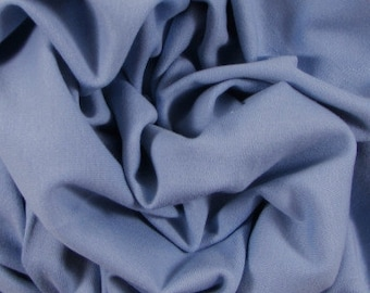 "Organic Cotton Interlock, 60"" wide, Baby Blue"