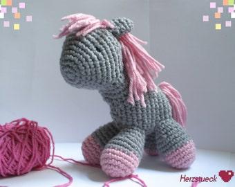 Cuddly Pony Amigurumi