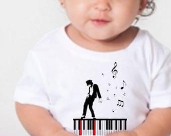 King of Dance Tribute Toddler Short Sleeve Tee - 3001T