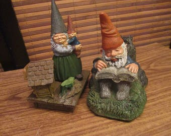 Mr and Mrs Gnome Ornaments