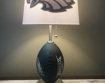 Philadelphia Eagles Football Lamp. Nfl Sports Team. Made By Thatlampguy