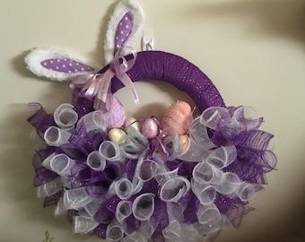Purple Easter Basket