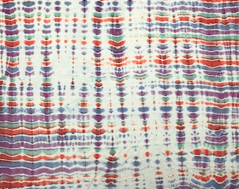 Hand dyed bamboo lycra