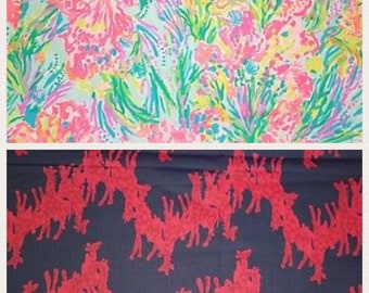 Lilly Pulitzer inspired skirts