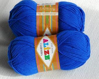 Wool yarn, Cashmira Alize, 100 % wool, cashmere