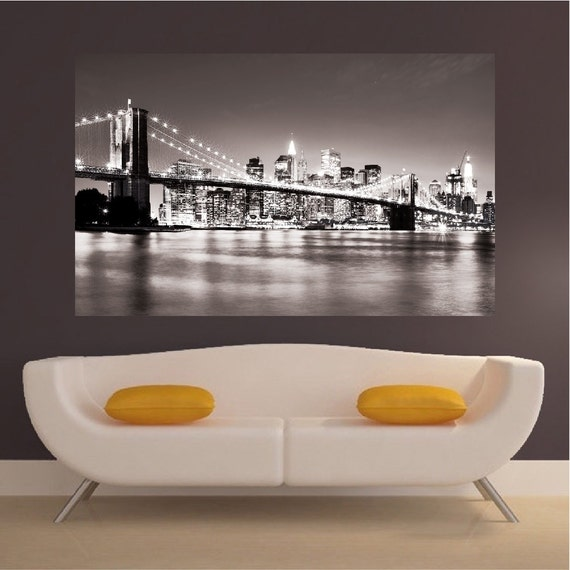 New York Wall Decal Mural by PrimeDecal