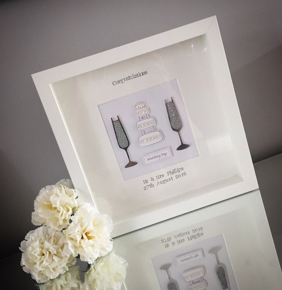 WEDDING / ENGAGEMENT FRAMES Personalised handmade scrabble