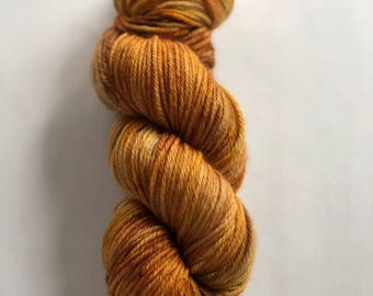 Goldenrod- 100% Superwash Merino, worsted weight wool