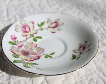 Vintage Saucer-Old Royal Bone CHina, England- for collectors, home decor or use in Mosaic Art