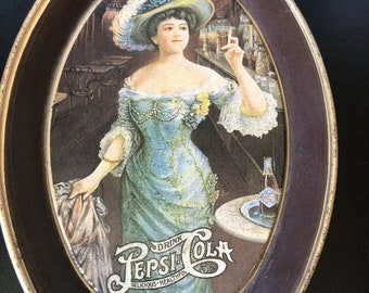 VINTAGE PEPSI COLA Tip Tray - By fABCRAFT fRENCHTOWN new Jersey